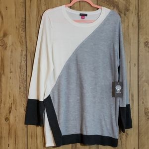 VINCE CAMUTO COLORBLOCK SWEATER SZ. XL NWT